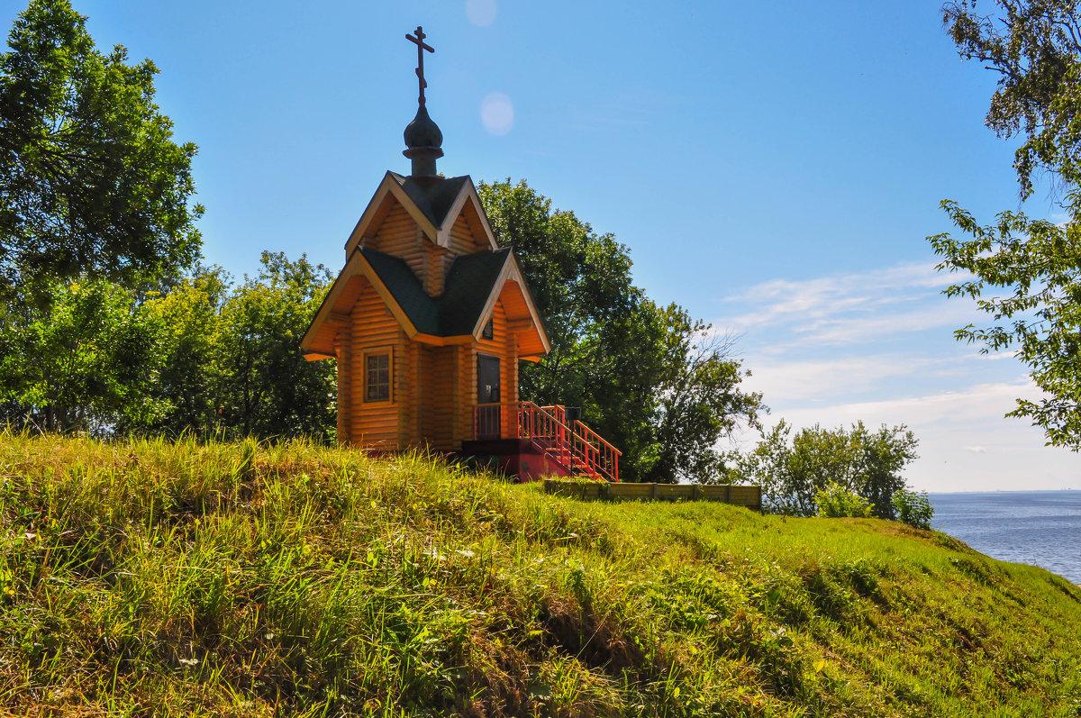 Церквушка в Чкаловске - Сергей Тагиров