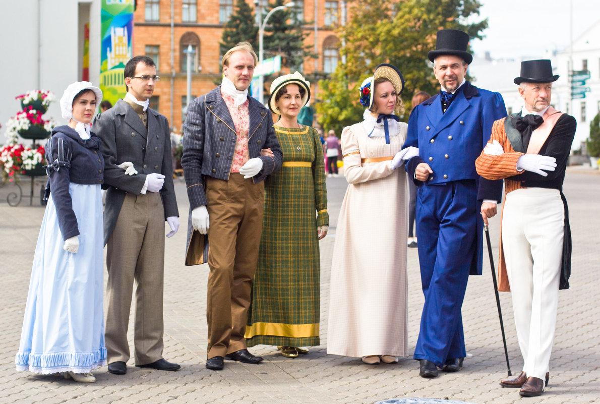 Кавалеры и дамы на празднике города Минска - Светлана З