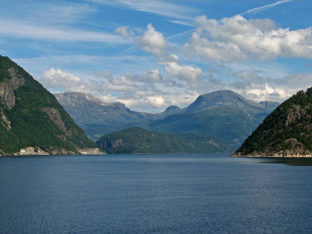 Норвегия. Эйдфьорд - максим лыков