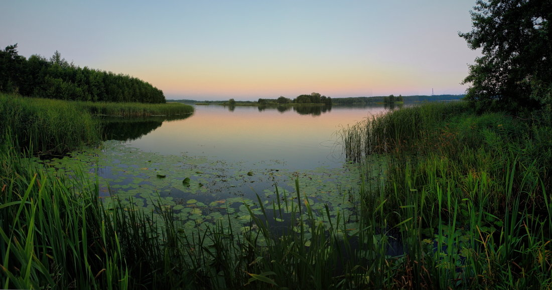 Тихое озеро. - Laborant Григоров