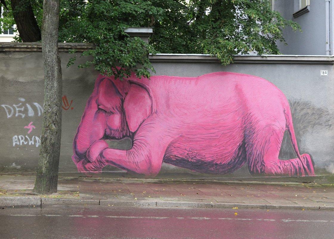 Розовые мечты... Розовые сны... Розовые слоны! )) - Оксана Кошелева