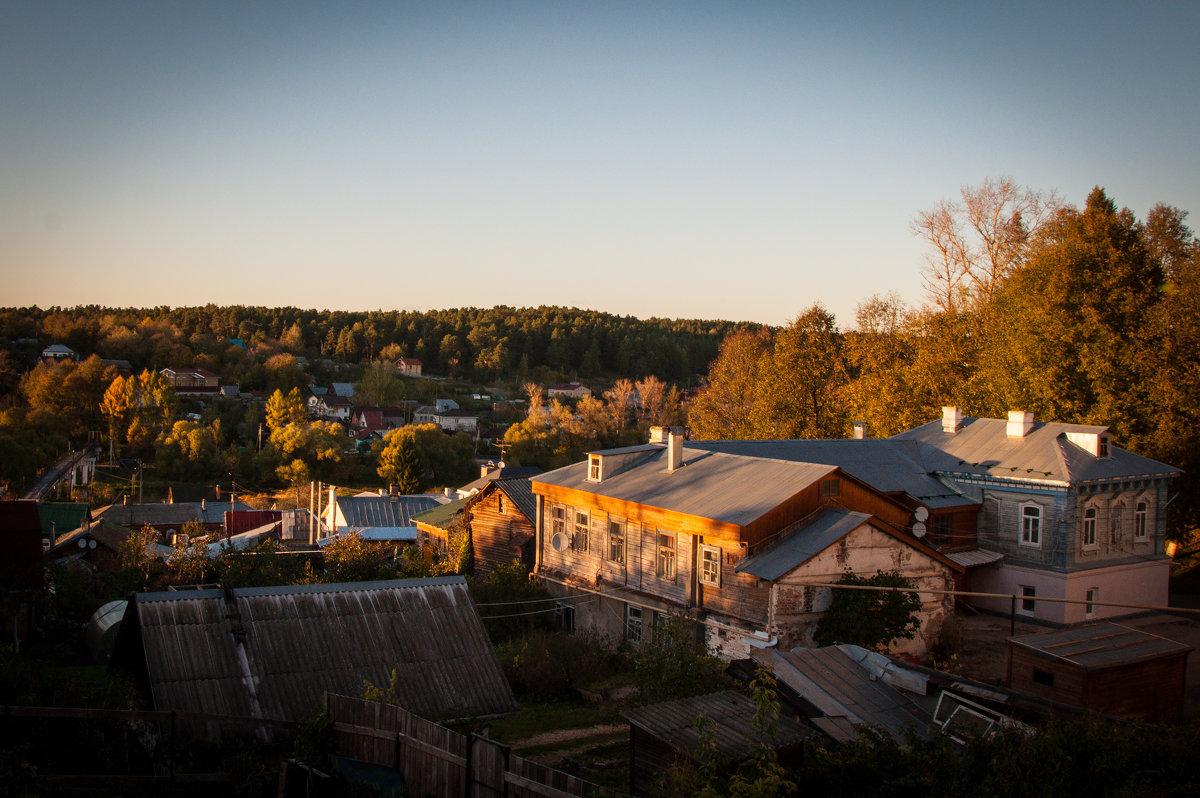 Вечер в уездном городе. Боровск - Alexander Petrukhin