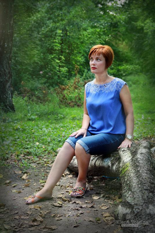 В лесу - Елена Волгина
