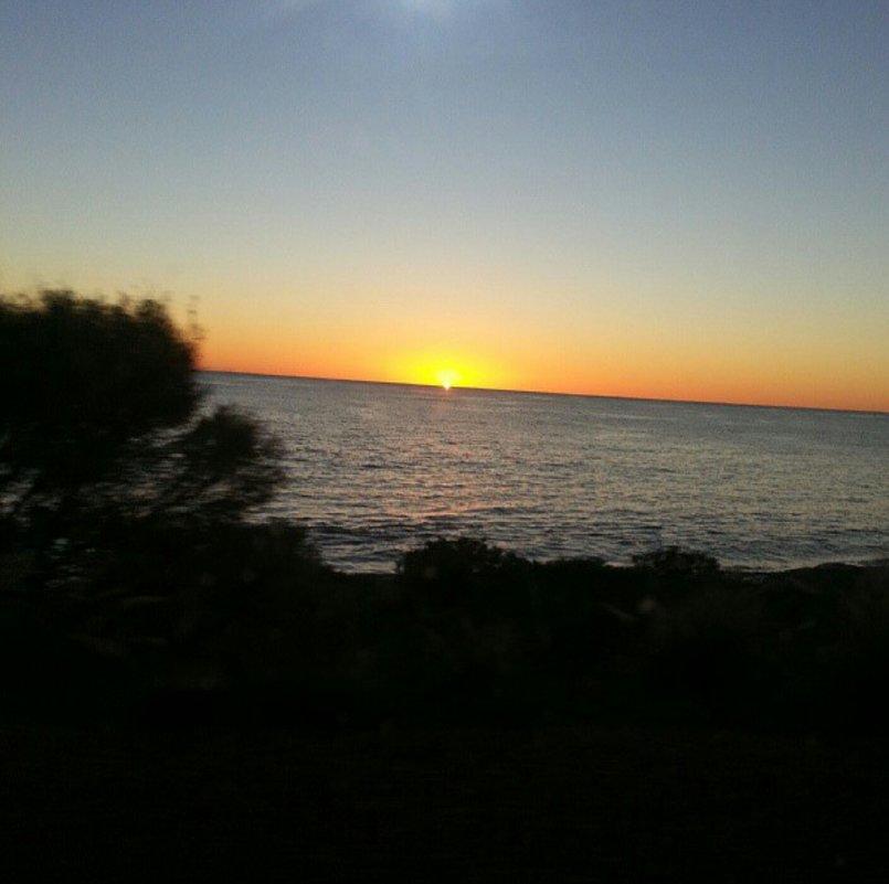 Sunset - Sarah C