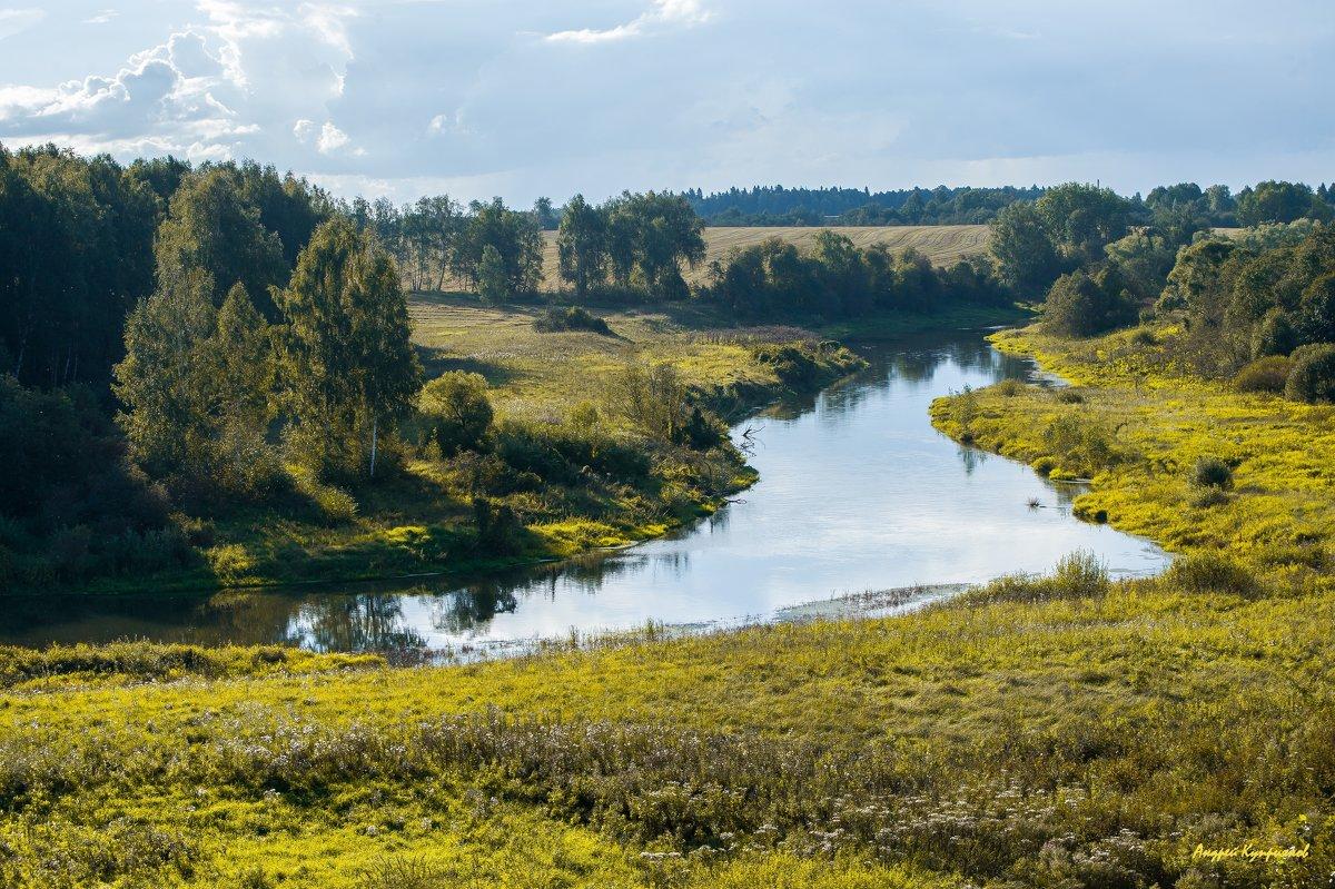 река Руза осенью - Андрей Куприянов
