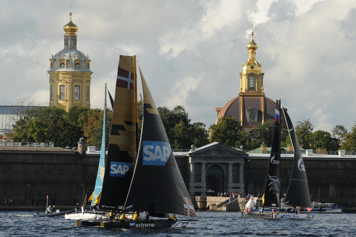 Регата Extreme Sailing Series - tipchik