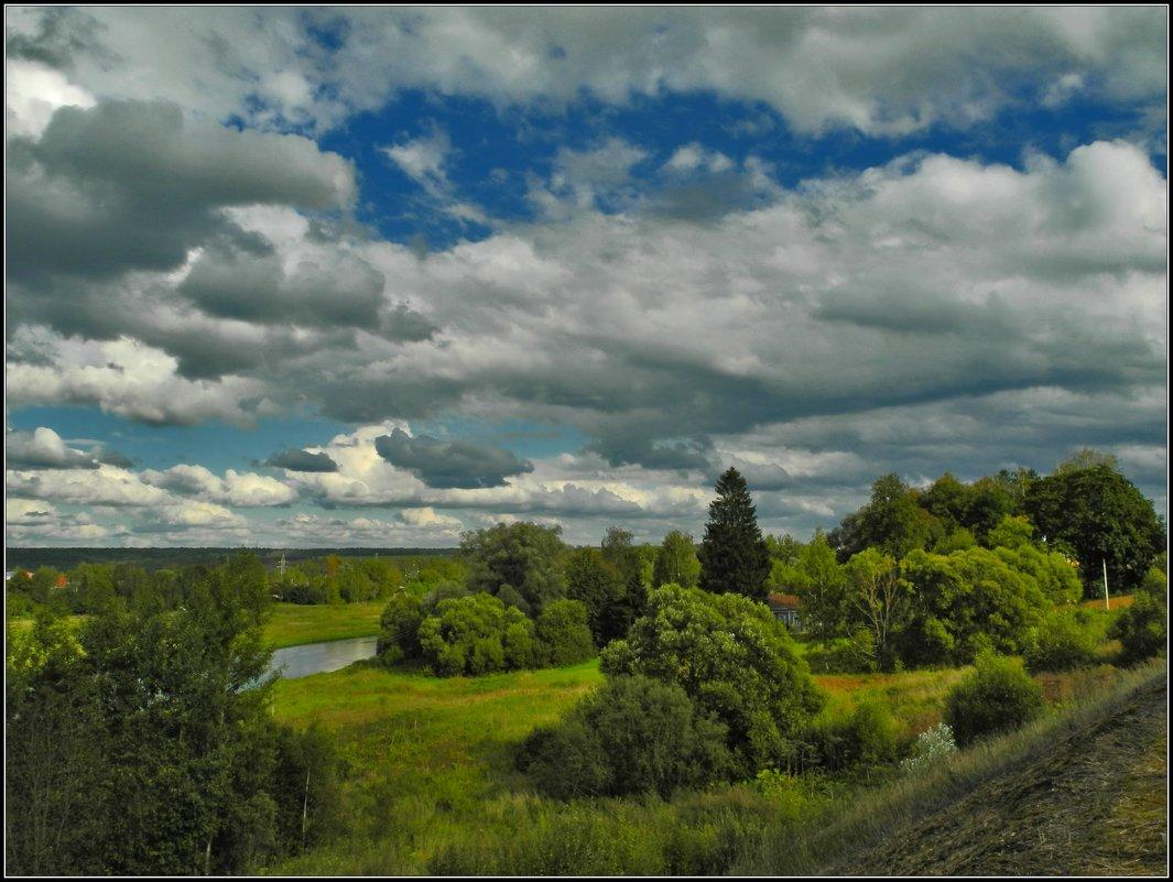пейзаж с облаками - Дмитрий Анцыферов