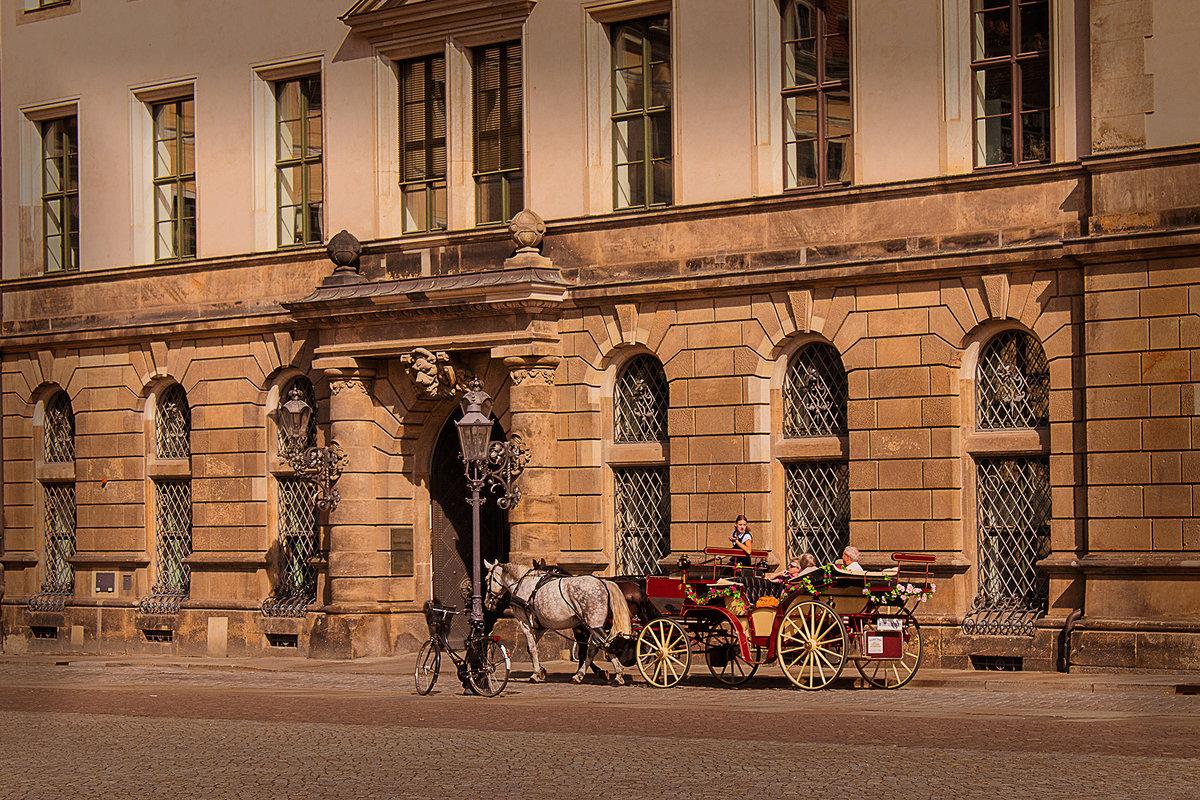Различные виды транспорта в Дрездене :) - Татьяна Каримова
