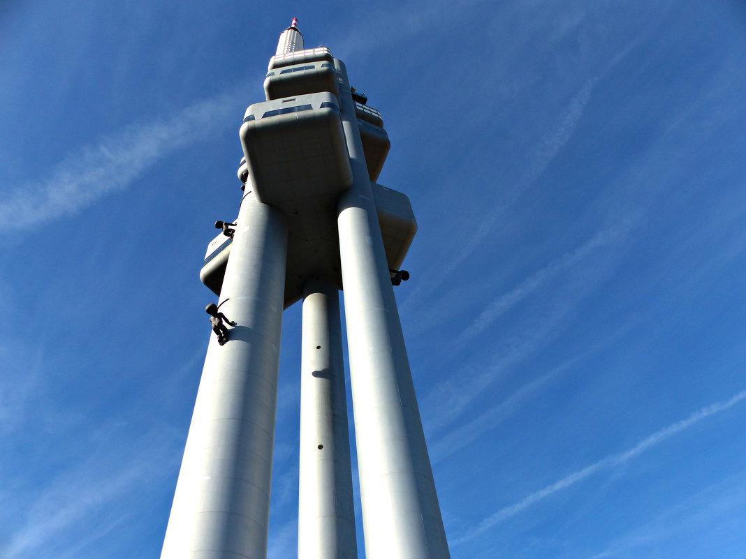 телевизионная башня в Праге - Ольга Богачёва