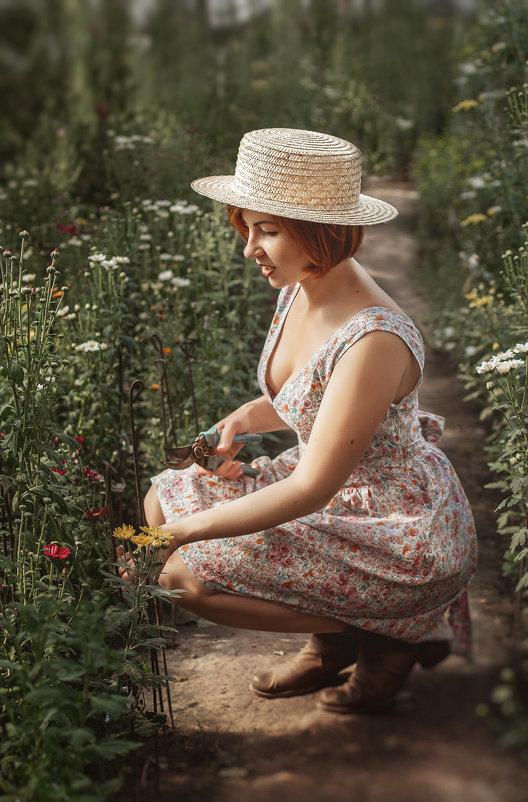 Садовница - Оксана Терентьева
