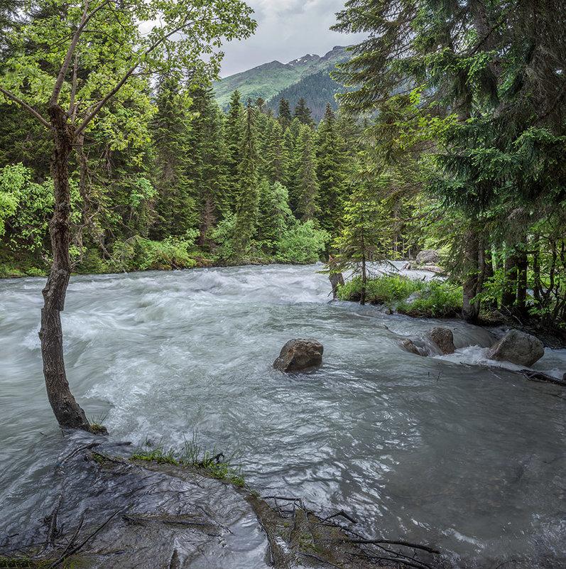 река Гоначхир после июньских дождей - Аnatoly Gaponenko