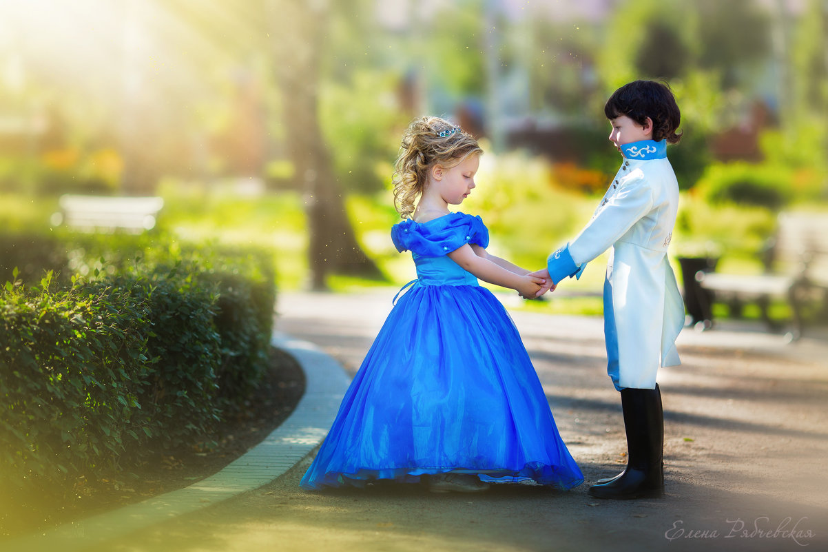 Золушка и принц - Елена Рябчевская