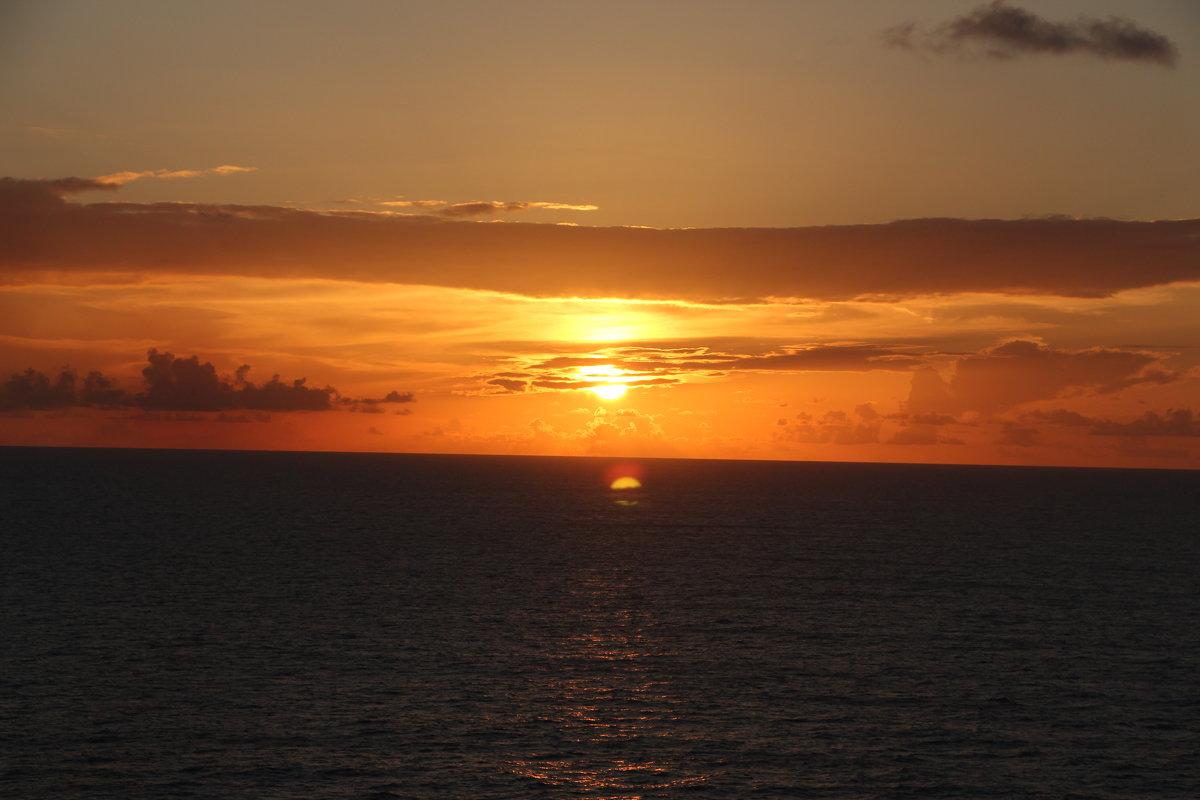 Закат в Карибском море - Надежда Ёздемир