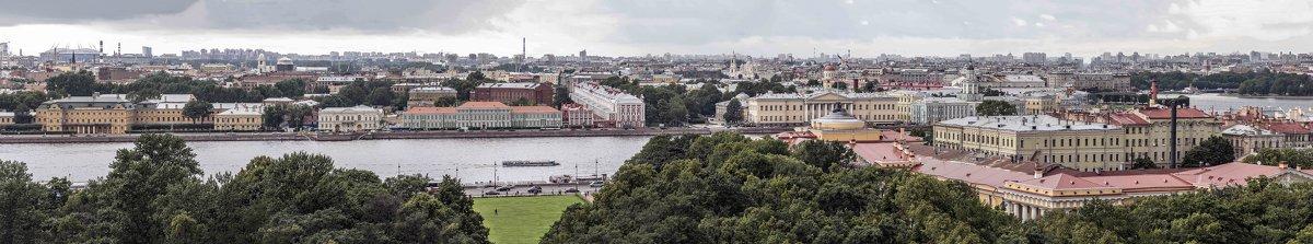Санкт-Петербург. Вид на город с Исаакиевского собора - Борис Гольдберг