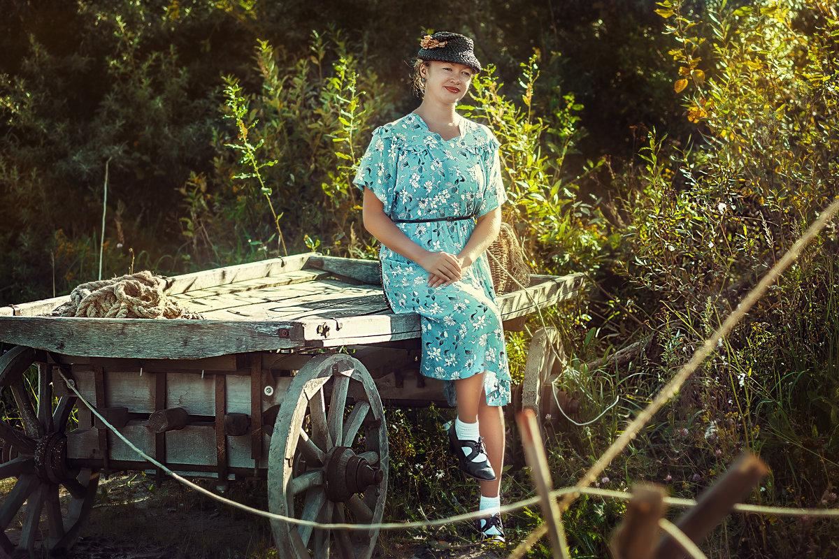 Девушка 40-х - Виктор Седов