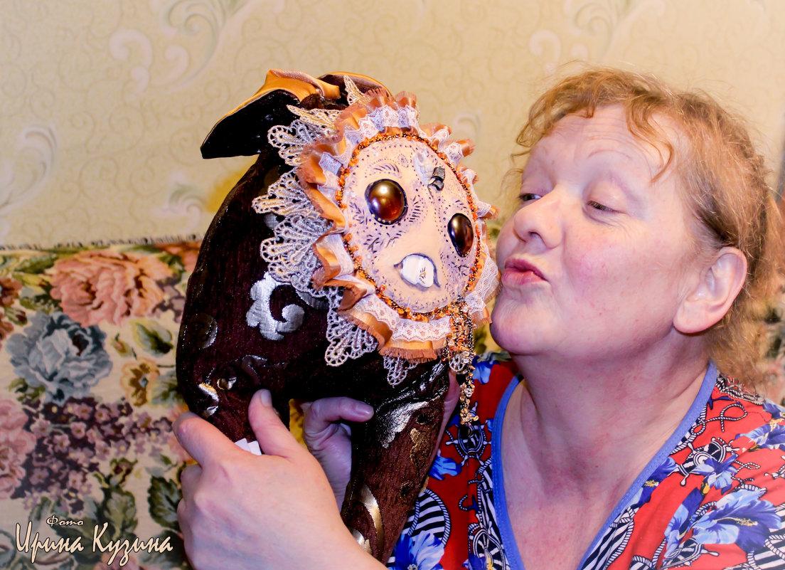 Ханни и бабушка..2015 - Ирина Кузина