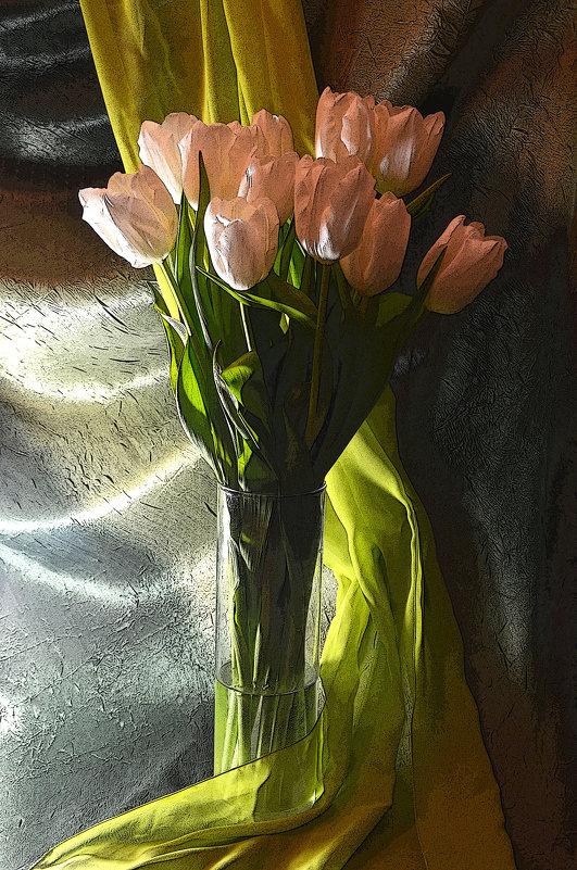 Белые тюльпаны - Татьяна Евдокимова