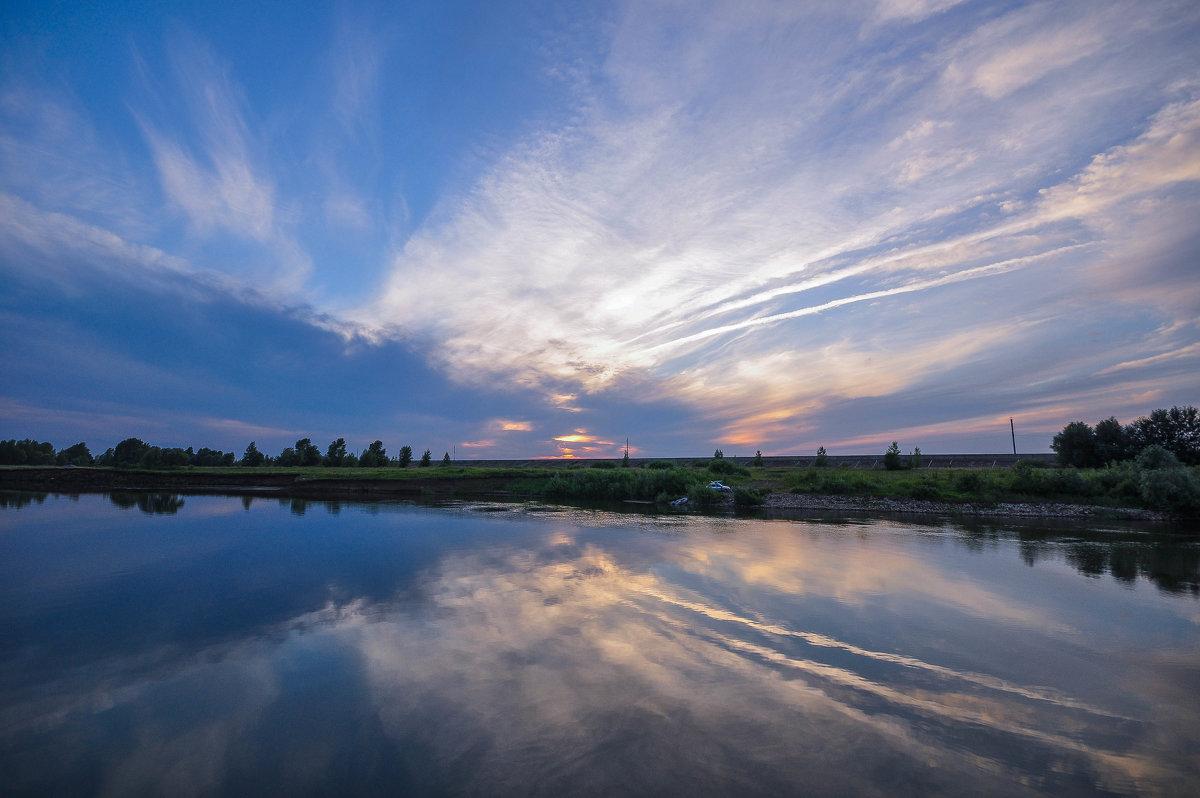 Закат на реке Каме - Сергей Тагиров