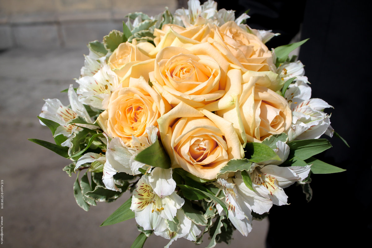 Букет свадебный - Son Eun Kuyol