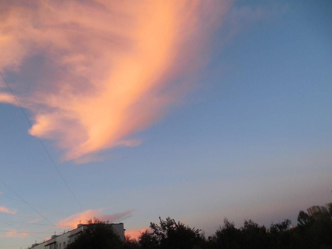 Облако на закате - Мила