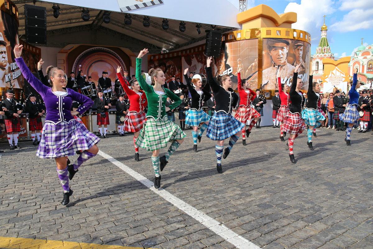 Шотландские танцы - галина северинова
