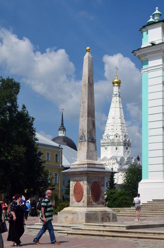 Памятник-обелиск в ознаменование заслуг монастыря (1792 г.) - Галина R...