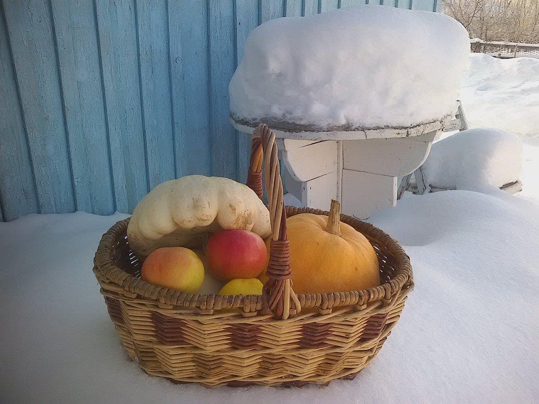 Осень зиму кормит. - Елена *