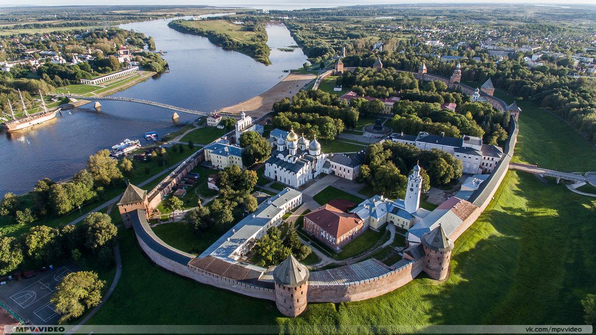 Кремль в Великом Новгороде - Павел Москалёв