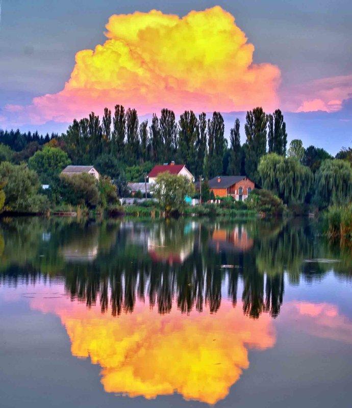 облака заката - юрий иванов