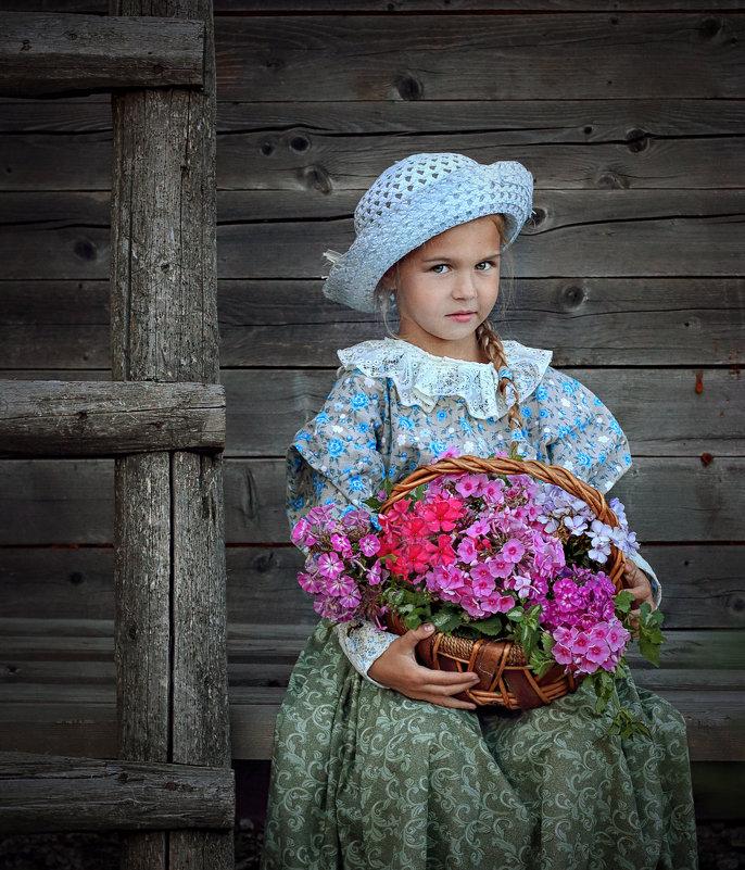 Маленькая цветочница - Марина Кузьмина