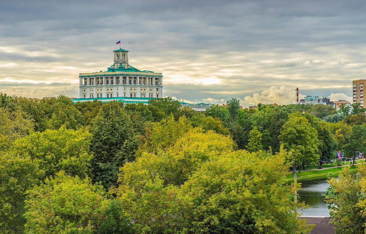 Москва, вид на Екатерининкий сад - Игорь Герман