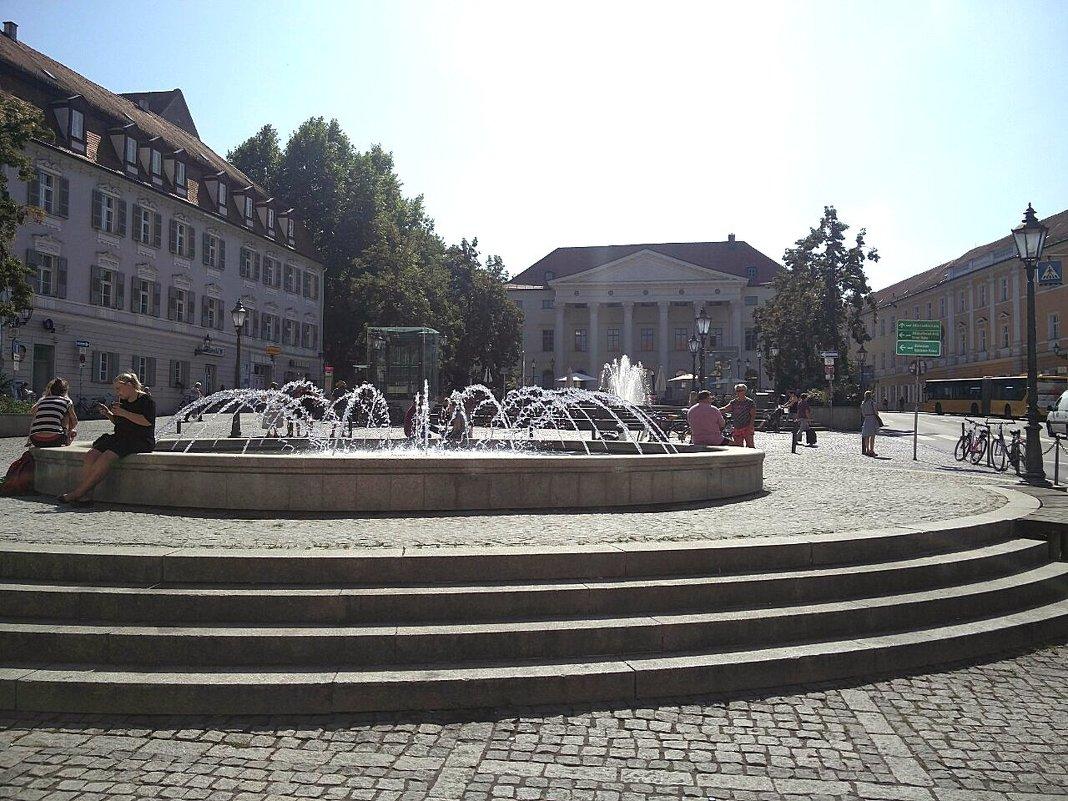 Площадь города Мюнхена - Александр Скамо