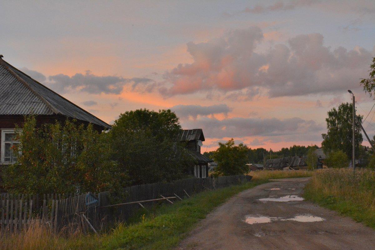 Закат в деревне - Ирина Бархатова