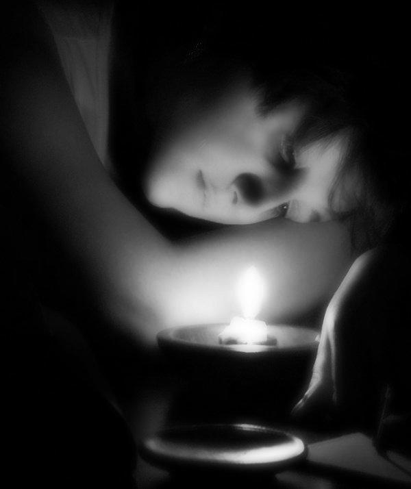 свеча - Гриша  6х9 или 9х12