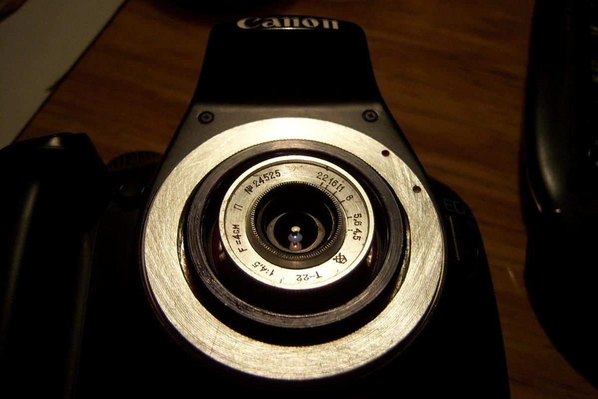 """Т-22"" в камере  Canon EOS 1100D - Владимир  Зотов"