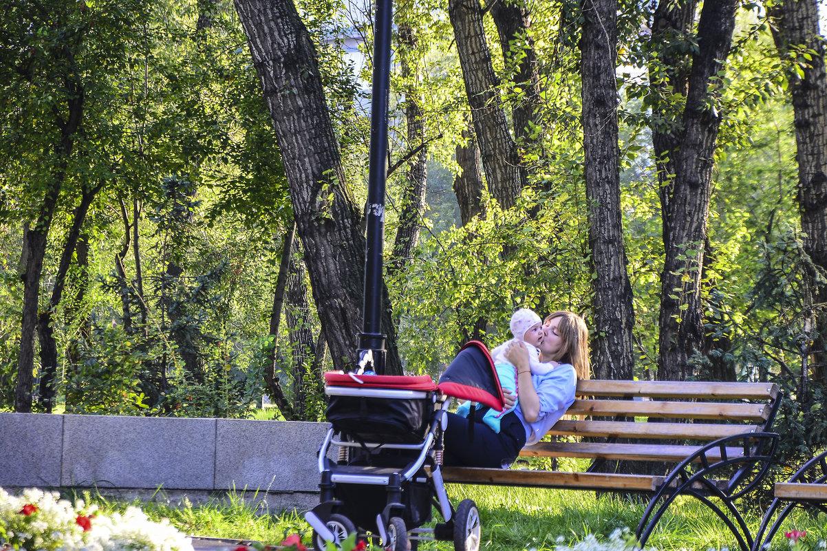 Материнское счастье. - юрий Амосов