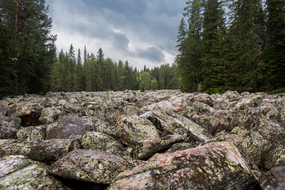 город Белорецк, каменная река - Антон Журавлев