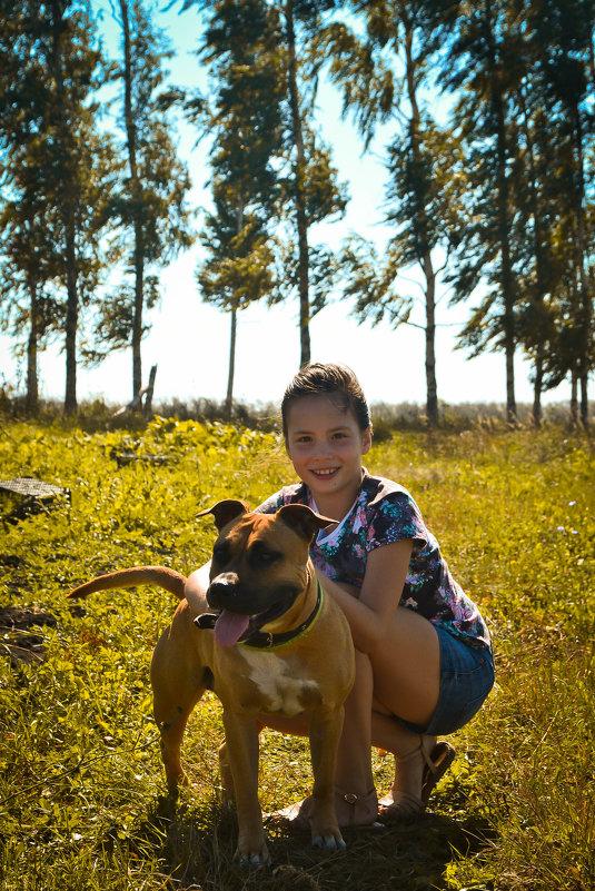 Собака-друг человека - Ирина