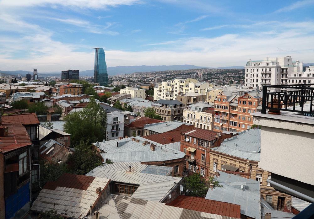 крыши Тбилиси - Лидия кутузова