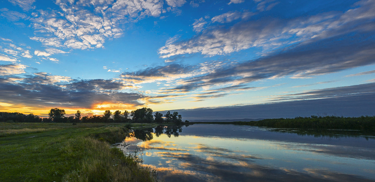 Последние летние закаты - юрий Амосов