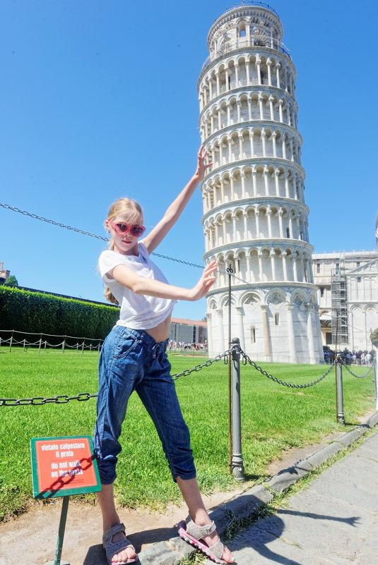 До поездки в Пизу можно много раз говорить, что не будешь делать такой снимок... - Павел Сущёнок