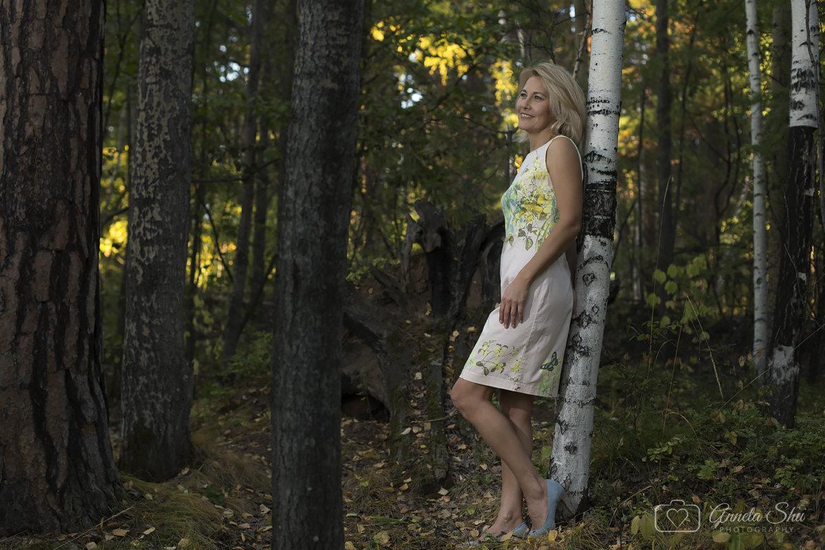 Бабье лето в середине сентября....красота) - Аннета /Анна/ Шу