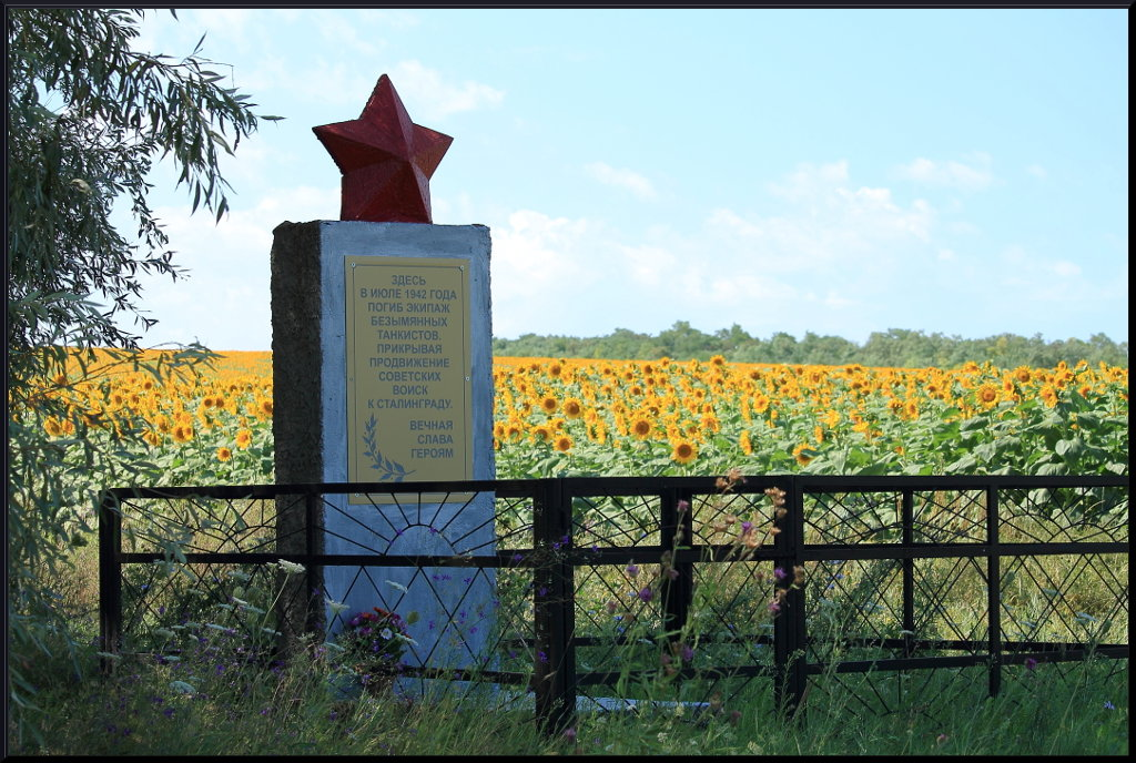 Памятник - Валентин Родоманов