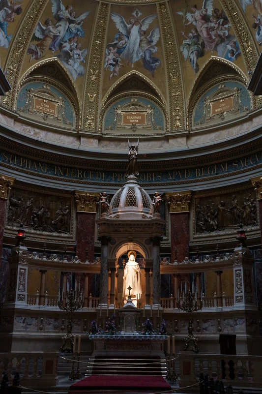 В Соборе Св.Иштвана . Будапешт - Алёна Савина
