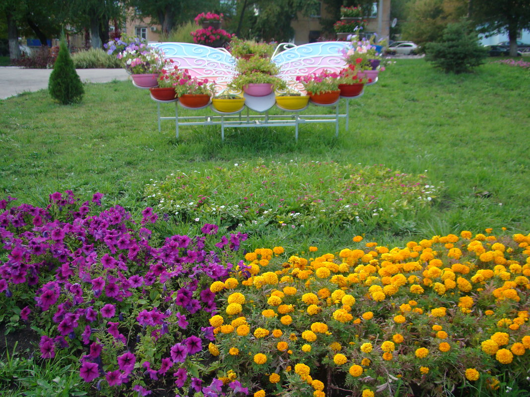 Бабочка-цветочница - марина ковшова