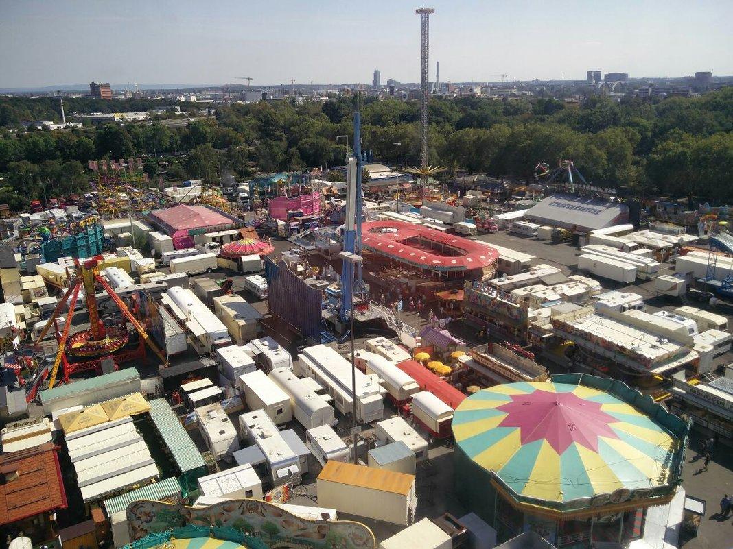 Парк развлечений в Мюнхене - Александр Скамо