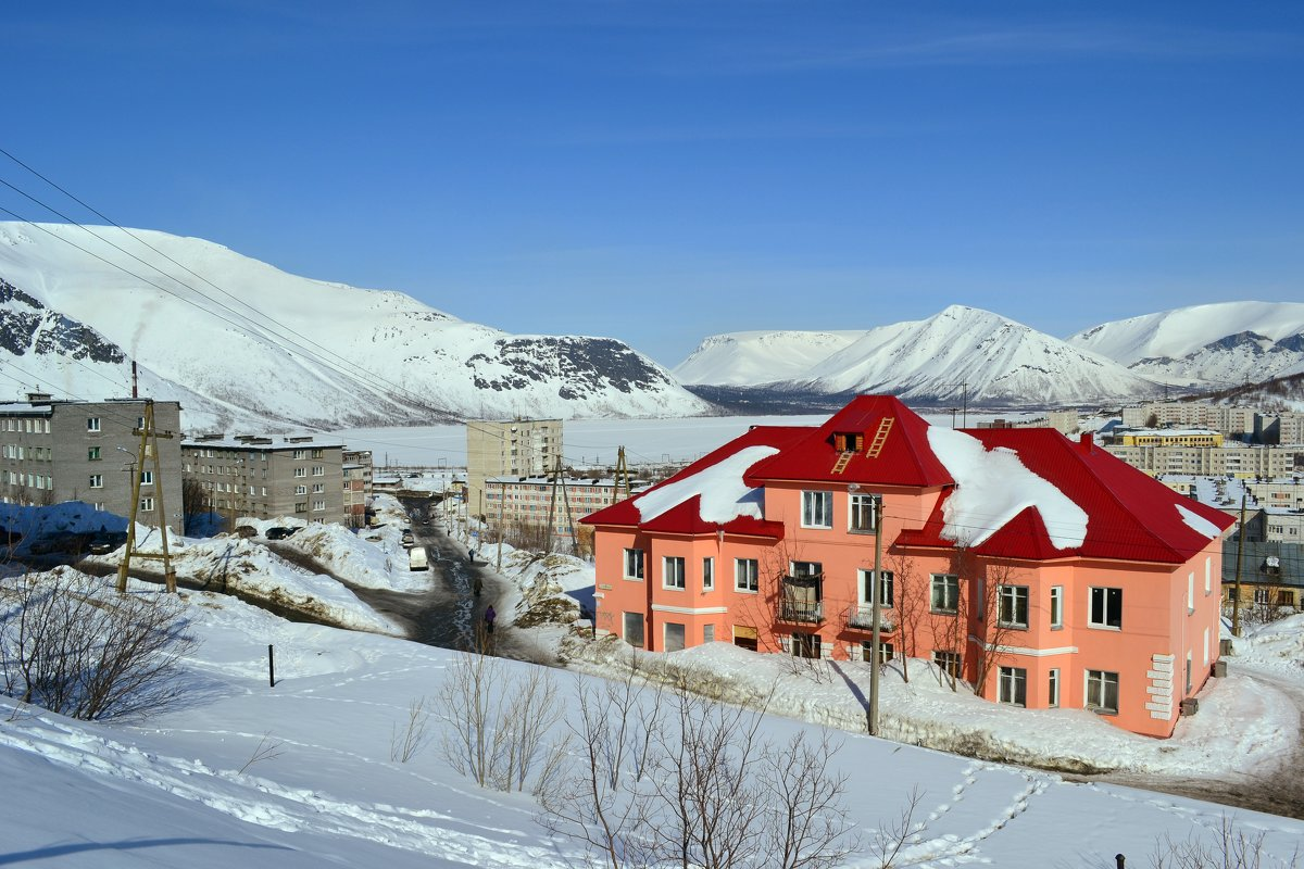 В снегах Заполярья - Ольга