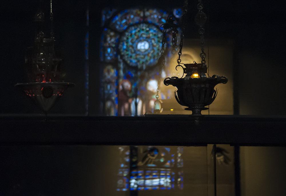 Светильник в церкви - Наталья Щепетнова