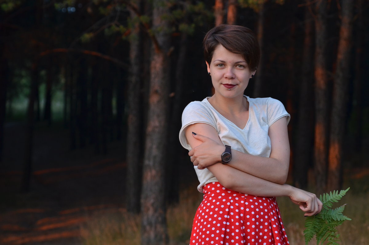 В темно-синем лесу.... - Лариса Красноперова