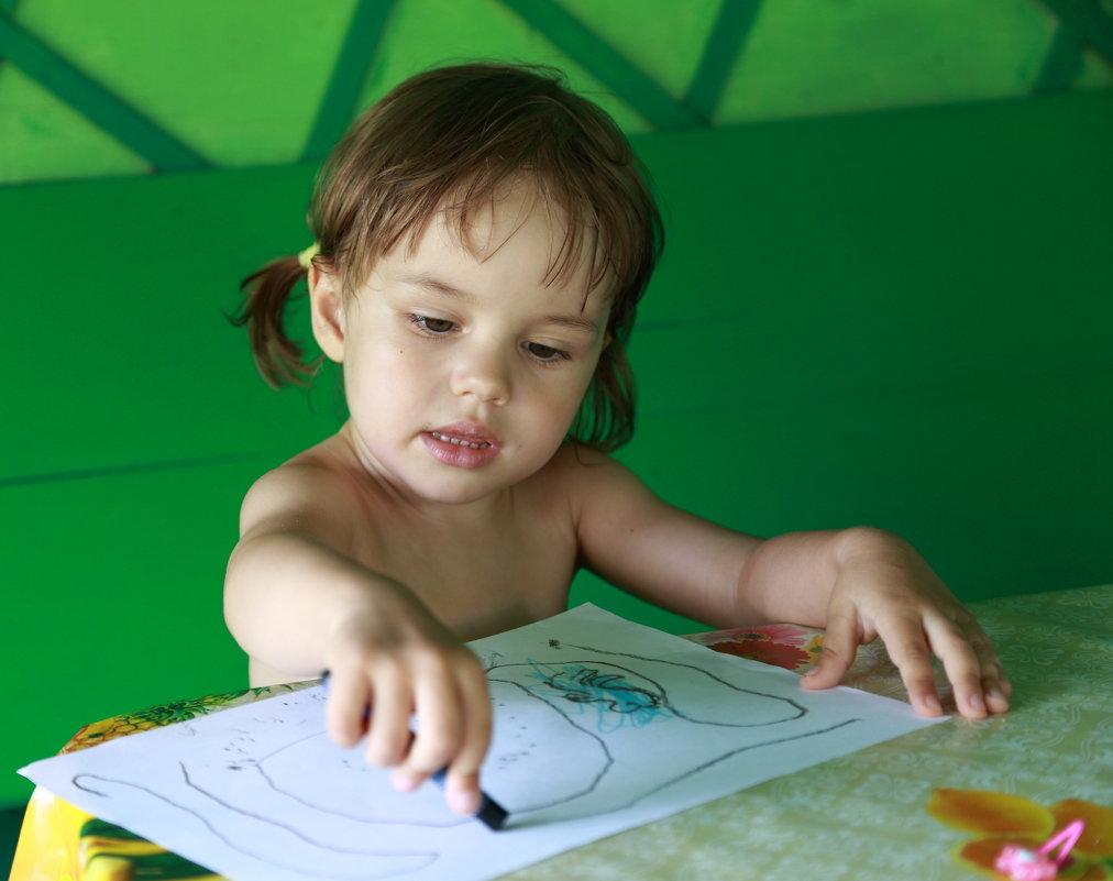 урок рисования - Сергей